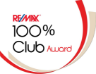 Remax 100 percent Club Award Recipient