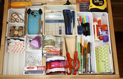 Ottawa Real Estate - Purge Your Home - Organized Junk Drawer